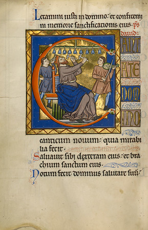 Initial C: David Playing Bells