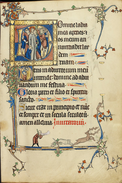 Initial D: The Betrayal of Christ; Initial D: Christ in the Clouds and Nuns in Prayer