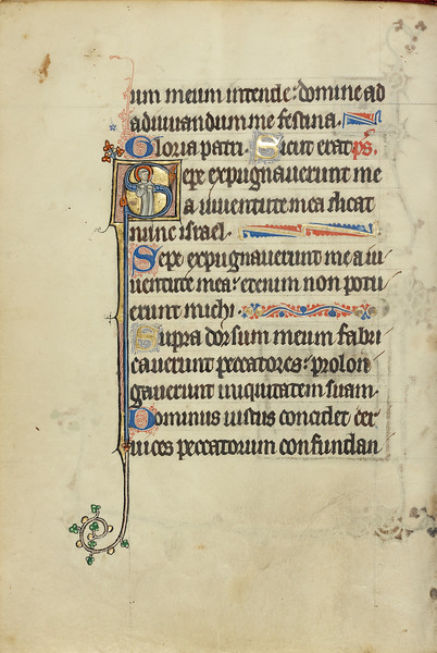Initial S: Saint Peter