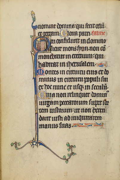 Initial Q: A Nimbed Woman and a Devil
