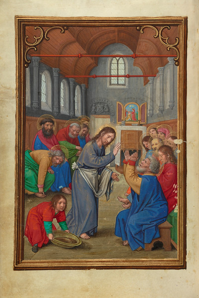 Christ Washing the Apostles' Feet