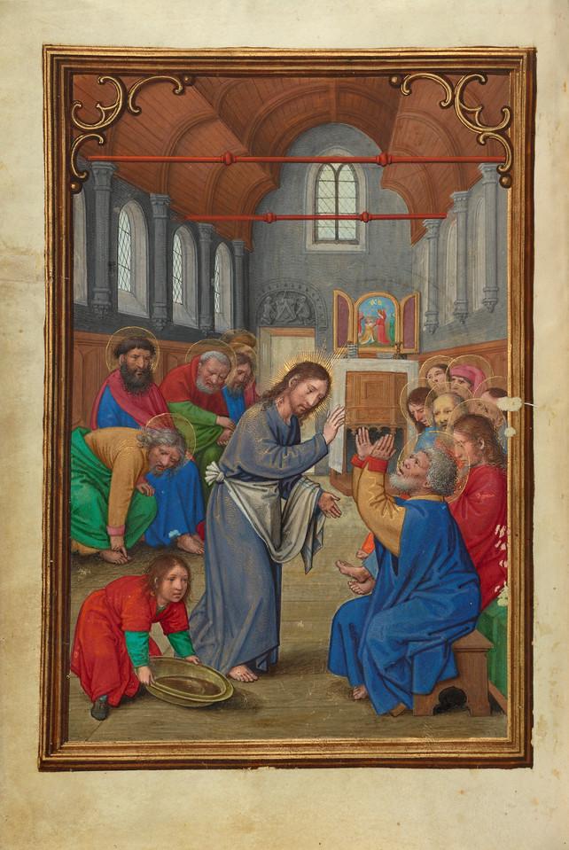 Christ Washing the Apostles' Feet