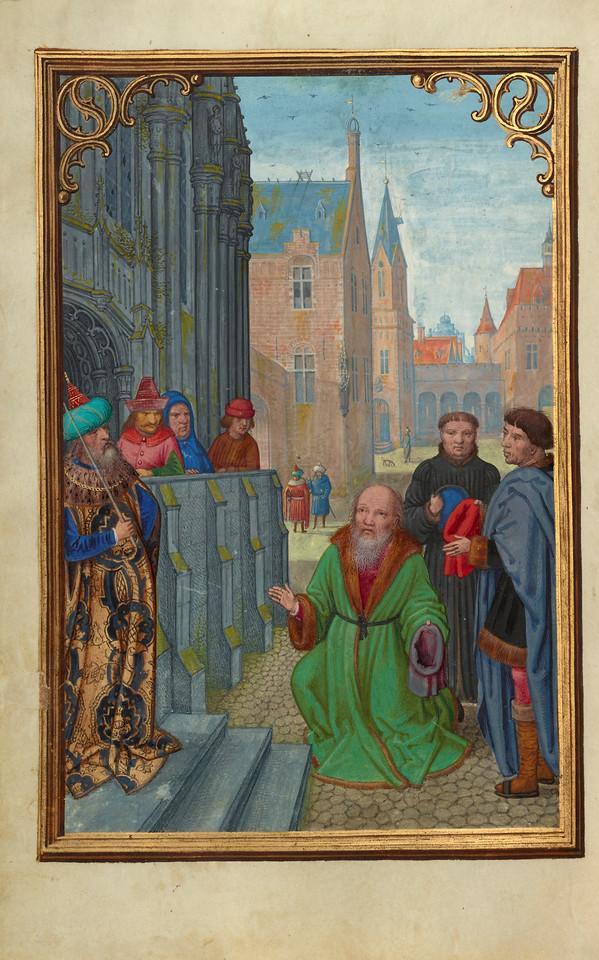 Joseph of Arimathea Before Pilate