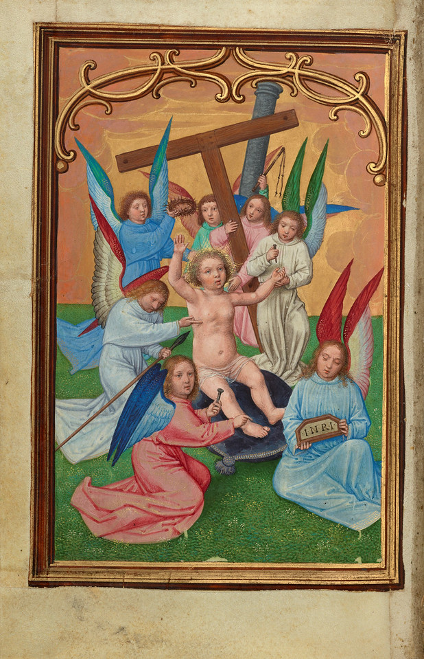 The Christ Child Surrounded by the Instruments of the Passion