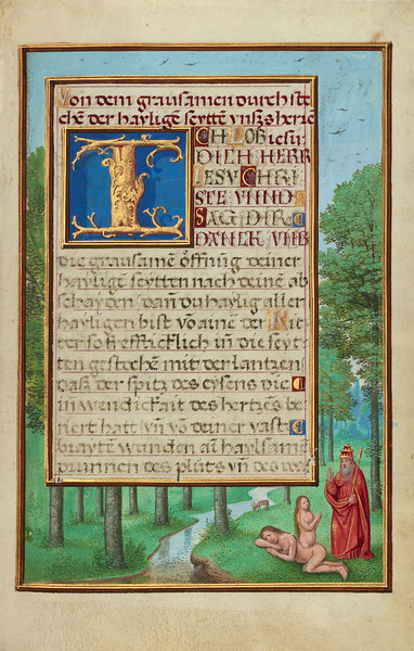 Border with the Creation of Eve