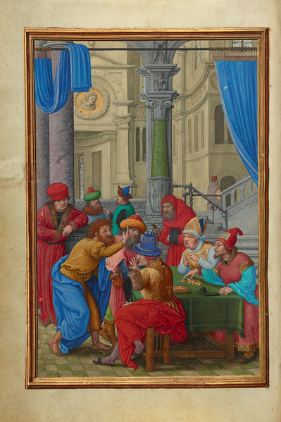 Judas Receiving the Thirty Pieces of Silver