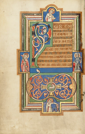 Decorated Incipit Page with a VD Monogram