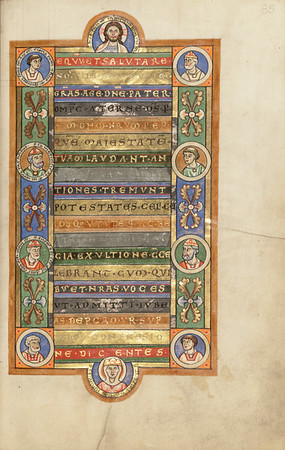 Decorated Incipit Page