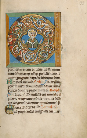 Initial E: An Archbishop