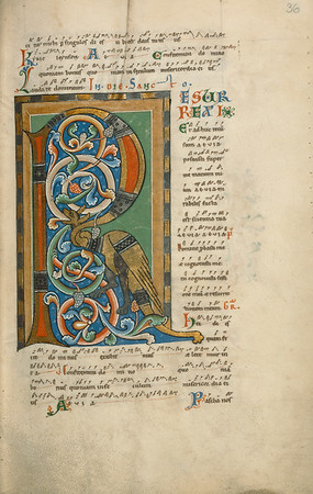 Decorated Initial R