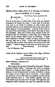 Hints to riflemen_by H  W  S  Cleveland  Cleveland, Horace William Shaler,1864 p 124