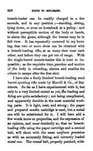Hints to riflemen_by H  W  S  Cleveland  Cleveland, Horace William Shaler,1864 p 256