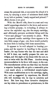 Hints to riflemen_by H  W  S  Cleveland  Cleveland, Horace William Shaler,1864 p 259