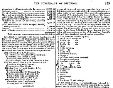 McPherson's History of the Rebellion 1861-1865 p 395a