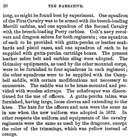 First Cavalry (NY Maybe) issued Merrill carbines