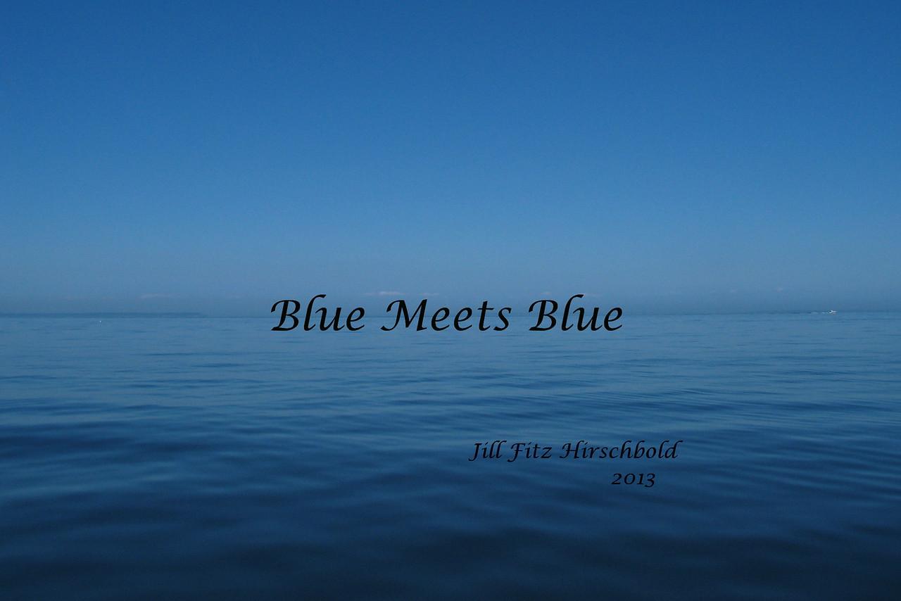 Blue Meets Blue