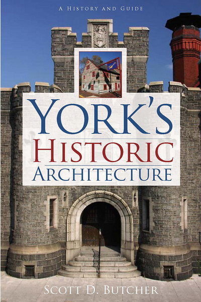 "York's Historic Architecture<br /> From early Colonial taverns and ornate Victorian homes to the postmodern office towers of today, York's streetscape features almost every style and era of American architecture. With exacting detail, local architecture expert Scott Butcher explains why York has been blessed with such an architecturally rich heritage and why current efforts to preserve it are so important.<br /> <br /> Order: <a href=""http://www.historypress.net/catalogPA.php"">http://www.historypress.net/catalogPA.php</a>"