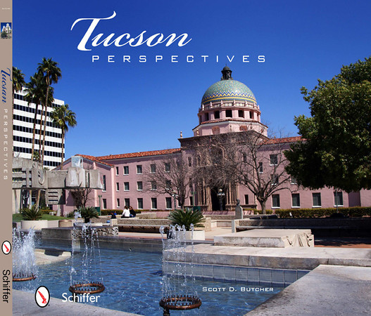 "Tuscon Perspectives<br /> Tucson, Arizona, is home to a diverse population that lives in tandem with the environment. It's also where the high Sonoran Desert gives way to towering sky islands to create one of the most picturesque settings to ever host a major metropolitan era. With 117 eye-catching photos, this historic city comes to life. Tour Barrio Viejo, Tucson's oldest neighborhood, and visit the La Pilita Museum, Fox Tucson Theatre, and Hotel Congress - where the infamous John Dillinger stayed. See the historic Mission San Xavier del Bac and the popular Arizona-Sonora Desert Museum while taking in the breathtaking landscape, including Mount Lemmon, that has captivated both residents and tourists for centuries. A great keepsake that you'll enjoy viewing again and again.<br /> <br /> Order: <a href=""http://www.schifferbooks.com/newschiffer/book_template.php?isbn=9780764337123"">http://www.schifferbooks.com/newschiffer/book_template.php?isbn=9780764337123</a>"