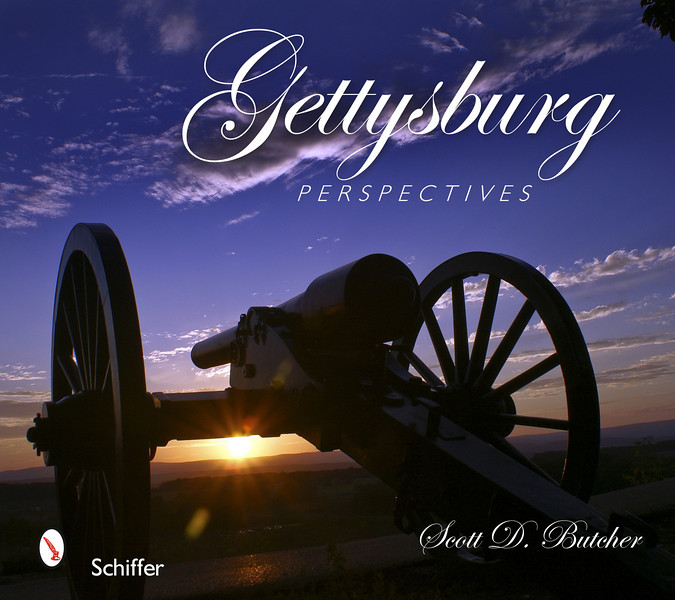"Gettysburg Perspectives<br /> While Gettysburg, Pennsylvania, is best know for the role it played in a pivotal three-day battle in 1863 during America's Civil War, the beauty of this historic town and its surroundings are less well known. Over 140 eye-catching color photos and an engaging text reveal beauty and history, including sites such as Lincoln Square, the Lutheran Theological Seminary, Gettysburg College, historic houses and shops along Baltimore, Carlisle, Chambersburg, and York Streets, Steinwehr Avenue, Taneytown Road, the Gettysburg Hotel, the Soldier's National Cemetery, and, of course, Gettysburg National Military Park. Victorian homes, including structures that played an active role in the Battle of Gettysburg, and a sampling from the roughly 1,400 monuments dedicated to Civil War soldiers, generals, and battalions are all included. This is the perfect guide for visitors and residents of historic Gettysburg, Pennsylvania.<br /> <br /> Order: <a href=""http://www.schifferbooks.com/newschiffer/book_template.php?isbn=9780764332968"">http://www.schifferbooks.com/newschiffer/book_template.php?isbn=9780764332968</a>"