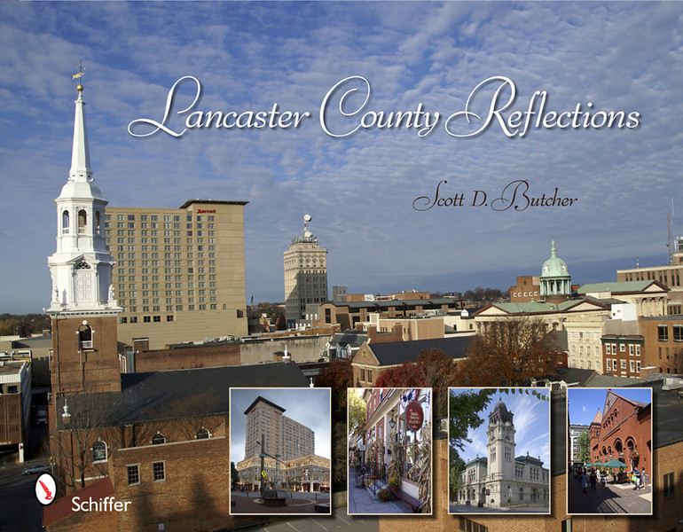 "Pennsylvania's Lancaster County. Those words conjure images of sprawling, fertile farmland, horses with buggies, and covered bridges. But Lancaster County is much more. The historic City of Lancaster is home to a large historic district and is a popular destination for the arts. Bucolic rolling hills give way to the charming towns of Columbia, Ephrata, and Marietta. Quaint Strasburg is now known as ""Train Town USA"" because of the Railroad Museum of Pennsylvania and the multitude of railroad-themed attractions. Lititz is recognized as one of the National Trusts for Historic Preservation's 2009 Dozen Distinctive Destinations. This book features pictures of two Lancaster Counties: the historic one with yesteryear charm, and the dynamic Lancaster one with creative appeal. More than 100 vivid photographs and informative captions make this the perfect keepsake for residents and visitors alike.<br /> <br /> Order: <a href=""http://www.schifferbooks.com/newschiffer/book_template.php?isbn=9780764335846"">http://www.schifferbooks.com/newschiffer/book_template.php?isbn=9780764335846</a>"