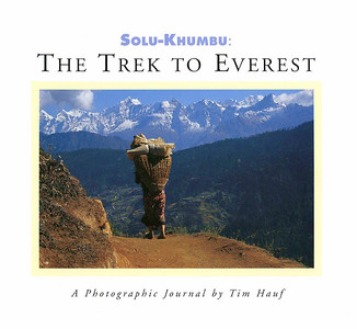 Solu Khumbu: The Trek to Everest  (2002) 160 pages Sold out  A candid and unsparing account of a great outdoor adventure.  It's a depiction from ground level, step by step, day by day, of what it's actually like to walk the Solu-Khumbu along the steep, terraced slopes of central Nepal to the icy elevations of Kala Patthar and the remarkable Gokyo Lakes.  For those who have been there, for those who plan to go, for those who prefer to remain at home, this book offers a stunning vision of one of the world's spectacular destinations.    Conger Beasley Jr. contributes an illuminating introduction to the history and culture of Nepal.