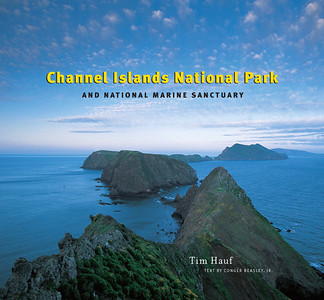 "Channel Islands National Park and National Marine Sanctuary (2008) 160 pages Hardcover - $35.00 Softcover -  $25.00  In this remarkable volume, veteran landscape photographer Tim Hauf captures the flora, fauna, cultural sites, and dramatic landscapes of  little-known Channel Islands National Park and National Marine Sanctuary.  This book includes nearly 150 outstanding photos, not only of the best-known sites, but those that are less familiar - from spectacular vistas to absorbing close-ups.  Tim's long-time collaborator Conger Beasley jr. provides a descriptive text of the flora, fauna, and history.   ""Channel Islands National Park and National Marine Sanctuary"" is a valuable introduction to the astounding natural wonders that flourish just off the coast of Southern California."