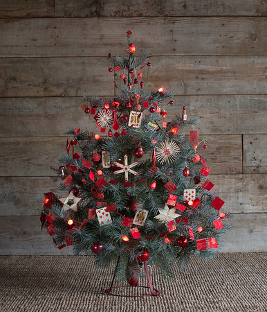 Red Christmas Tree - 2/4/14