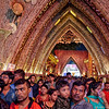 """This pandal seemed """"to come from an alternative wicker-based civilization."""""""