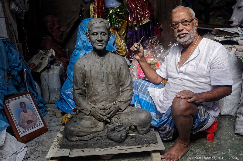 One of the most accomplished sculptors in Kurmatoli