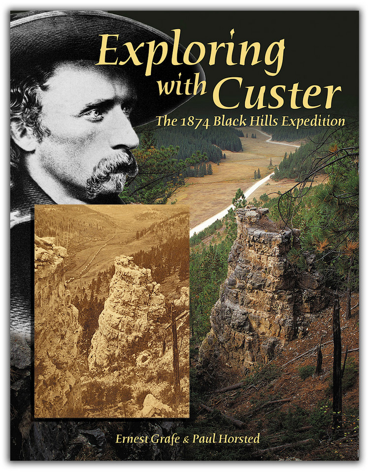"The first photographs ever taken in the Black Hills (in 1874), are precisely matched with 50 modern images by Paul Horsted showing the same locations today. Read the reports, journals and diaries of Custer and his men as you follow their trail, in the field or from your armchair! Maps and GPS coordinates guide you to photo sites, camp sites and other historical areas in the Black Hills. Co-authored with Ernest Grafe. This book is 8.5x11 inches, 300 pages in full color with 160 photographs and 120 maps. <br /> <br /> The New York Times says Exploring With Custer is ""the most comprehensive yet"" on this fascinating chapter of frontier military history. More information at  <a href=""http://www.custertrail.com"">http://www.custertrail.com</a>.<br /> <br /> Order online at  <a href=""http://paulhorsted.com/OrderPaulsBooks/orderwithpaypal.html"">http://paulhorsted.com/OrderPaulsBooks/orderwithpaypal.html</a>"