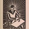 Masereel, Frans.   Die Idee : 83 holzschnitte /  Munchen : Kurt Wolff, 1928.  Printed books collection