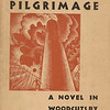 Ward, Lynd   Wild Pilgrimage : a novel in woodcuts:  NY : Haas, 1932. Dust Jacket cover, Collection of Robert Dance