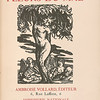 Baudelaire, Charles, 1821-1867.   Les fleurs du mal /  Paris : A. Vollard, 1916.   Baudelaire. Fleurs du mal, PML 140780  VOL II, title page