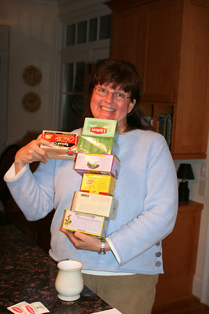 Barbara & the tea choices