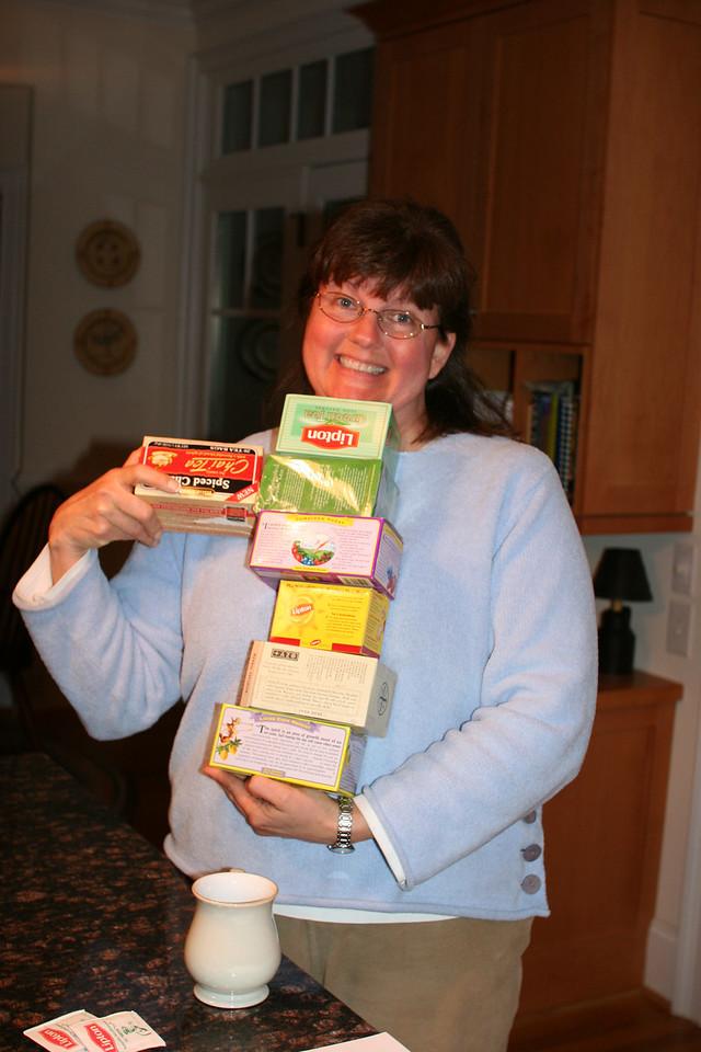 Barbara & the tea choices