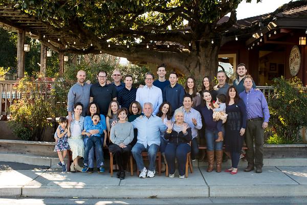 Family Portrait Pizza Party 2/13/18