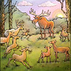 Page 15, Moose on the Move<br /> Moose finds friends<br /> <br /> Published in Fall, 2011<br /> Reading A-Z<br /> Illustrated by Laura Hoffman