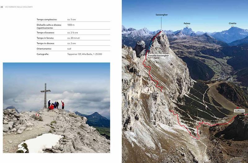 Klettersteige in den Dolomiten - Band 2