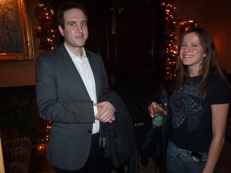 Jacqueline and Samuel seemed to find it a novel idea that Sam looked like Andy Kaufman, but perhaps they were just being polite....