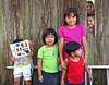 Children, Back Yard Fence, Clearwater, FL 2003