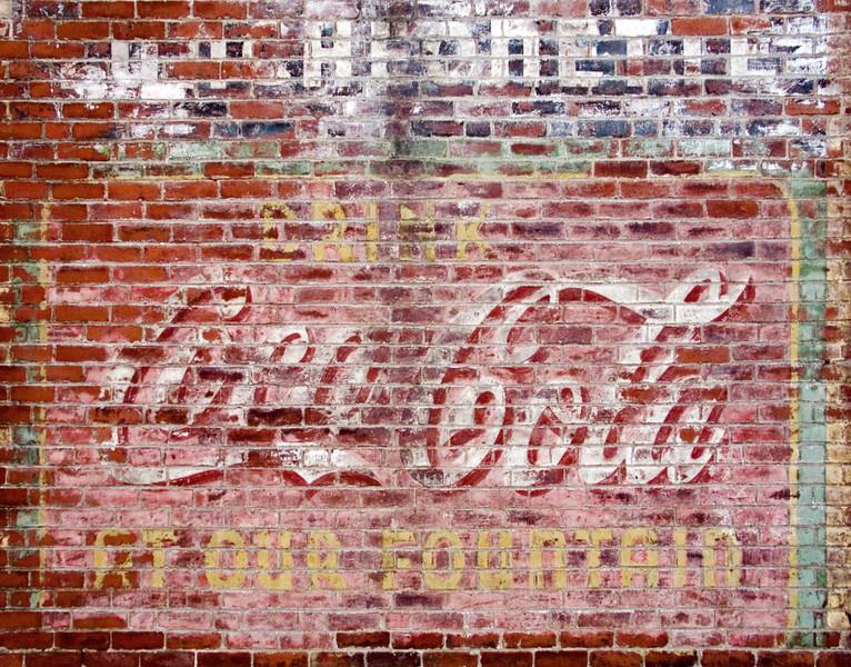 Coca Cola Wall, Waltham, MA 2004