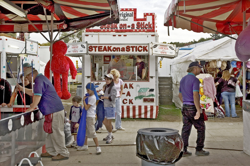 Steak on a Stick, Topsfield Fair, Topsfield, MA 2004