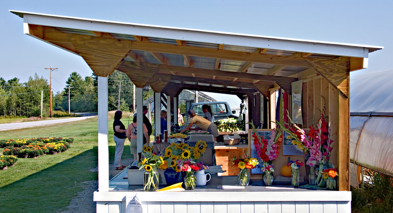 Produce Stand, Rumney, NH 2007