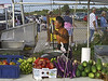 Fresh Fish and Vegetable Seller, Flea Market, Clearwater, FL 2006