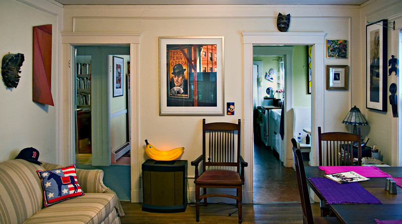 Dining Room, Private Home, Belmont, MA 2007