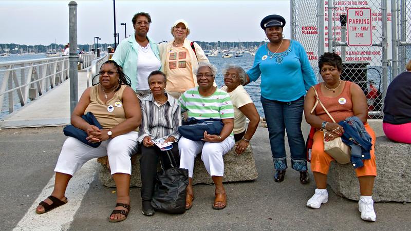 AARP Delegates From Detroit, Salem, MA 2007