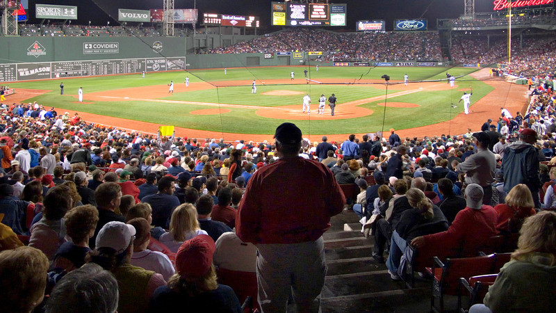 Night Game, Fenway Park, Boston, MA 2007