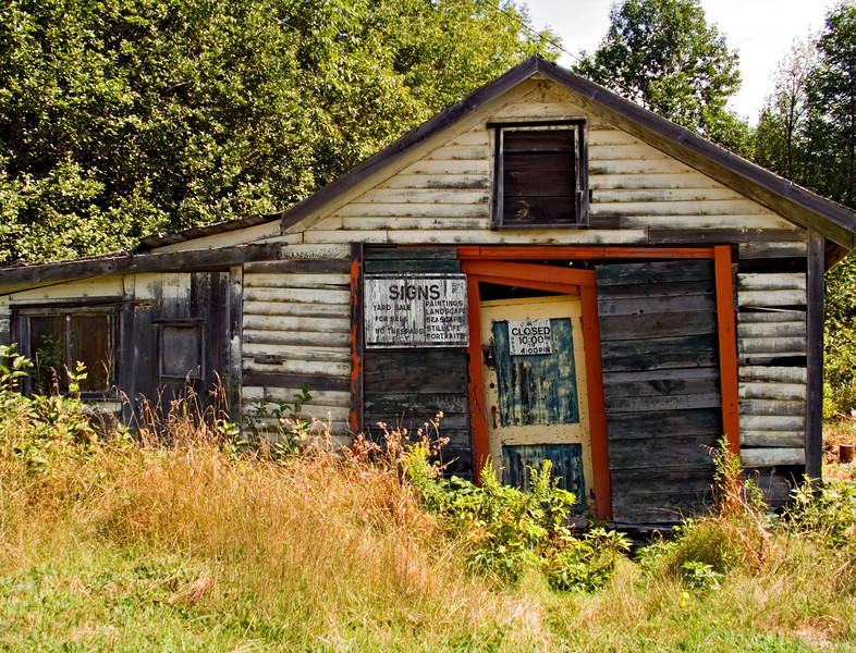 Abandoned Building, Swanville, ME 2003