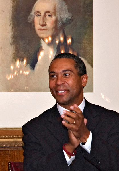 Deval Patrick & George, Boston, MA 2006