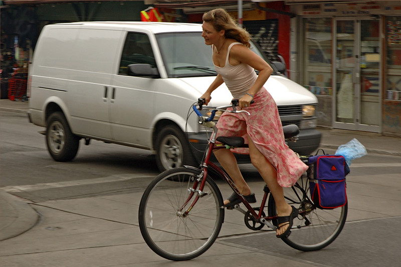 Afternoon Commute, Kensington Market, Toronto, Canada 2004